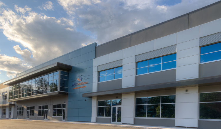 apex warehouse architecture in langley, bc
