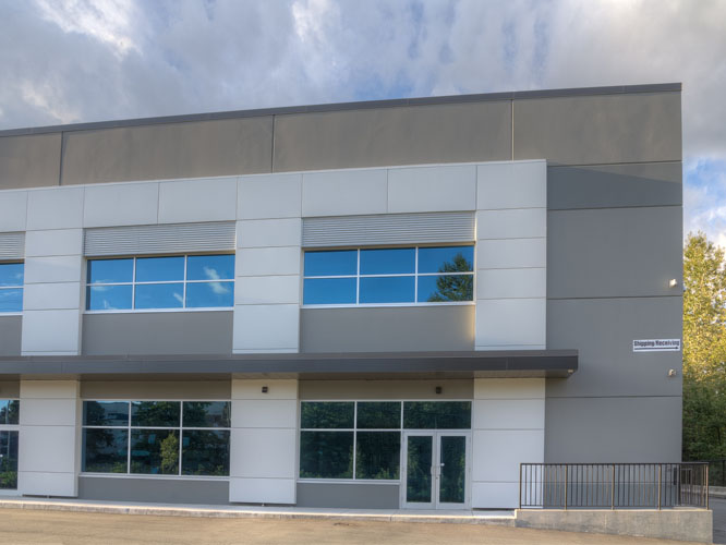langley, bc architecture design for apex warehouse