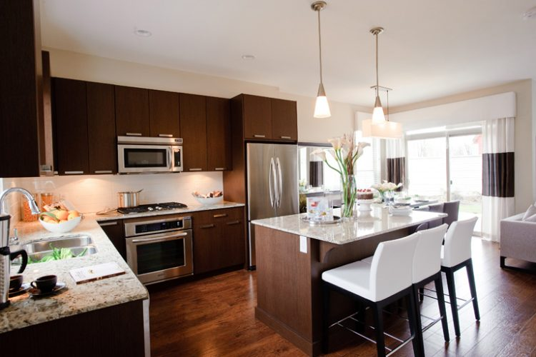 inside view of argyle townhomes in abbotsford