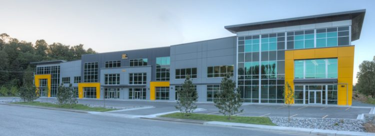 architecture design for braber equipment building in abbotsford, bc