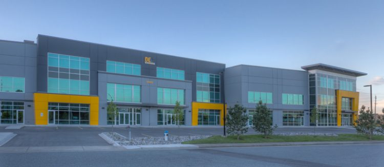 braber warehouse building in abbotsford, bc
