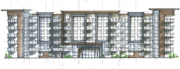 King Road, Abbotsford architectural design renderings