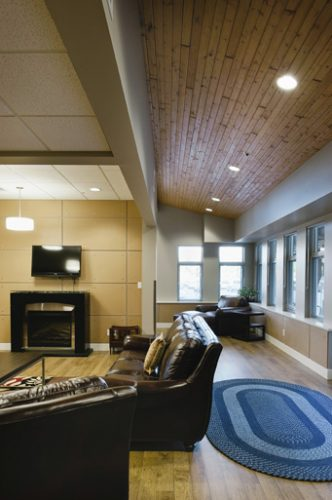 interior of christine lamb residences in abbotsford, bc