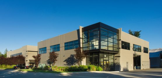 dynamic warehouse building in abbotsford, bc