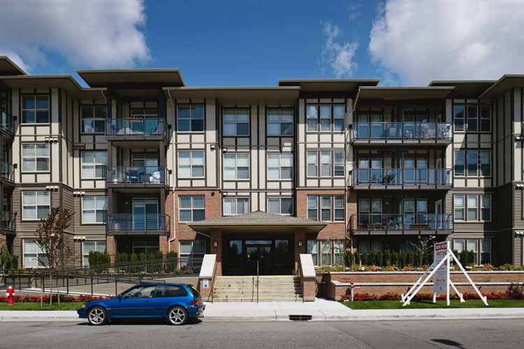 Encore condos in Langley architecture design