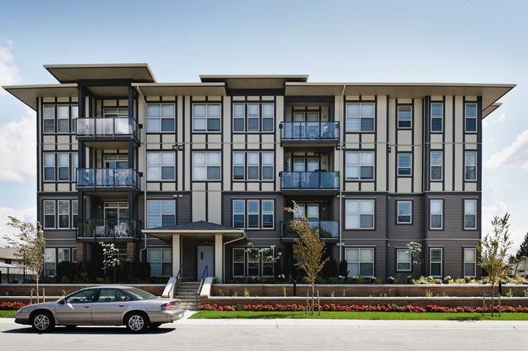 Architecture design for condos in langley