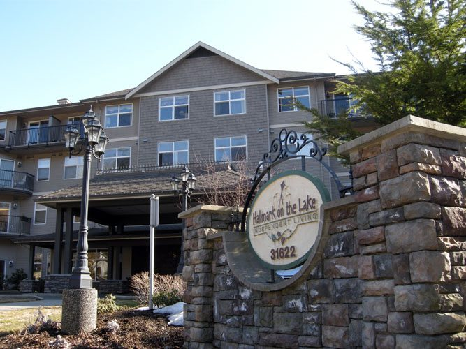 abbotsford architecture of assisted living building