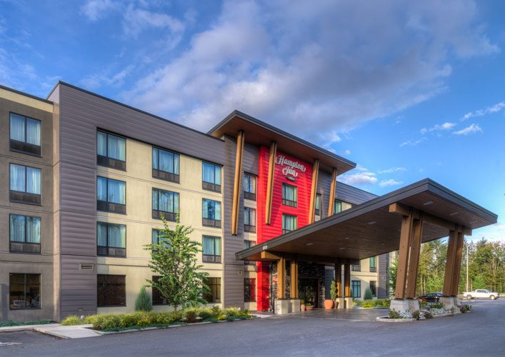 building architecture in chilliwack for hampton inn