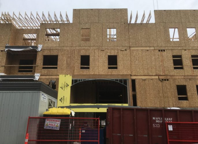 architecture construction for hillcrest apartments in abbotsford bc