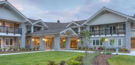 holmberg house hospice architecture in abbotsford, bc