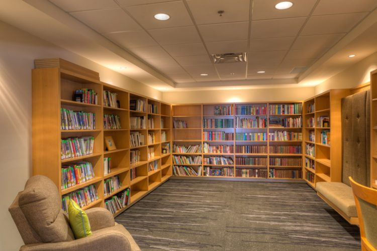 holmberg house hospice library in abbotsford, bc