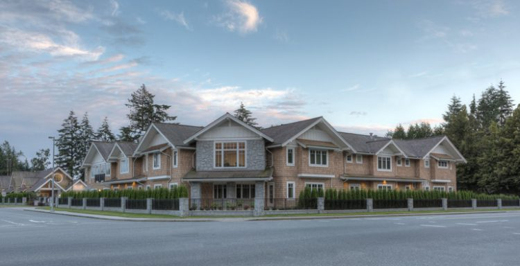 architecture for holmberg house hospice in abbotsford