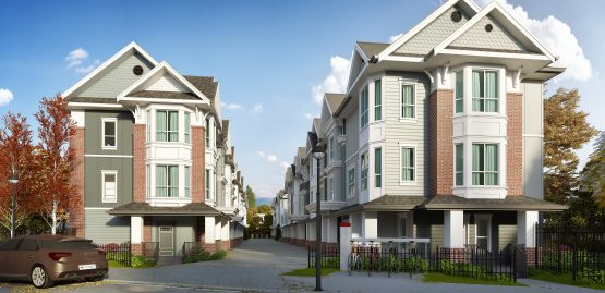 Rossbrin Townhomes in Langley