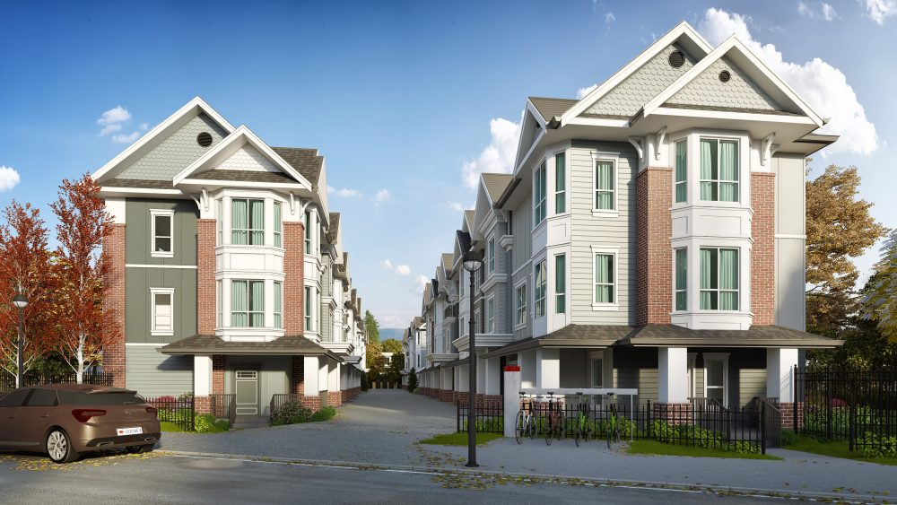 Rossbrin Townhomes Keystone Architecture