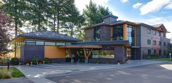 architecture design for the kinghaven treatment centre in abbotsford, bc