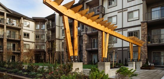 Architectural design for Lexington apartments in Langley