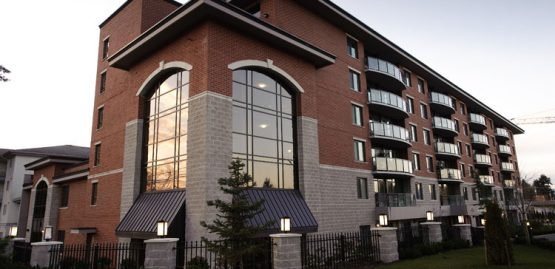 architecture for menno terrace place building in abbotsford, bc