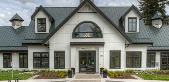 architecture design for the mennonite museum in abbotsoford, bc