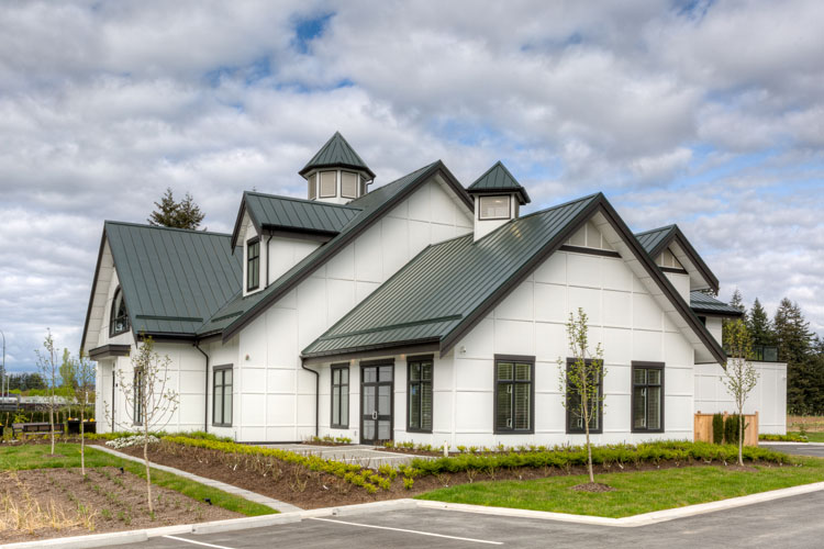 architectural design for the mennonite museum in abbotsford, bc