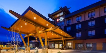 best western architecture design in merritt, bc