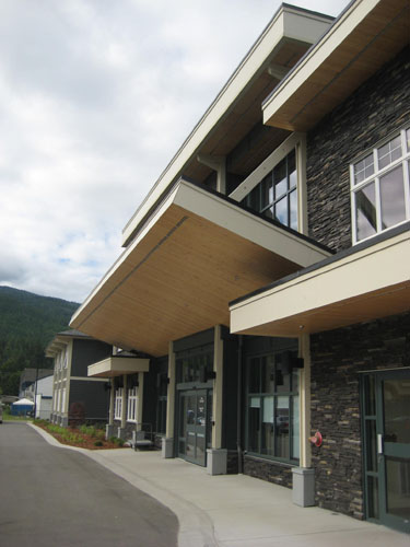 salmon arm architectural design for mt ida mews