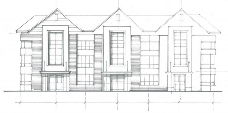Architecture drawings of the Panorama Development in Surrey