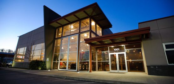 architectural design for peterbilt truck dealership in abbotsford, bc