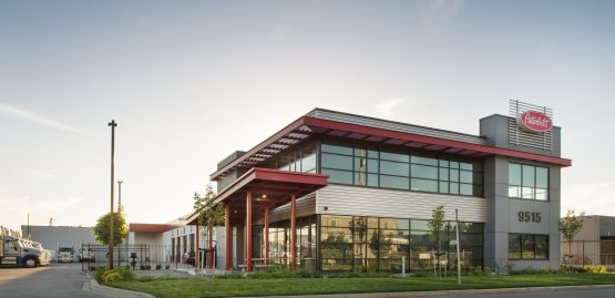 architectural design for peterbilt in surrey, bc