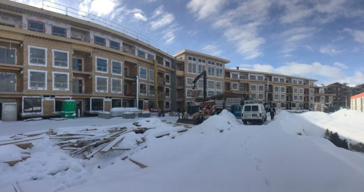 Architecture design for Peterson Landing Apartments in Kamloops, BC