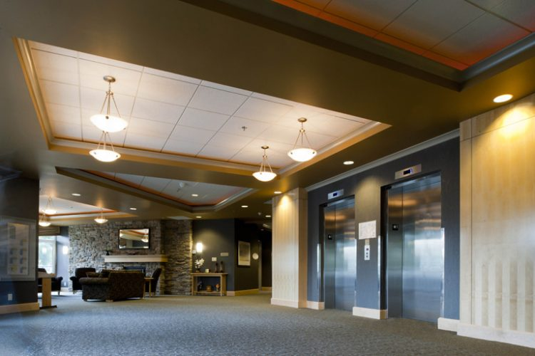 inside view of primrose gardens building in abbotsford, bc