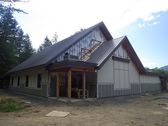 architecture for stillwood camp chapel Lindell Beach, BC