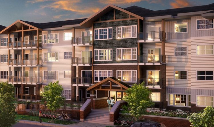 Architecture design for Suede Condos in Langley