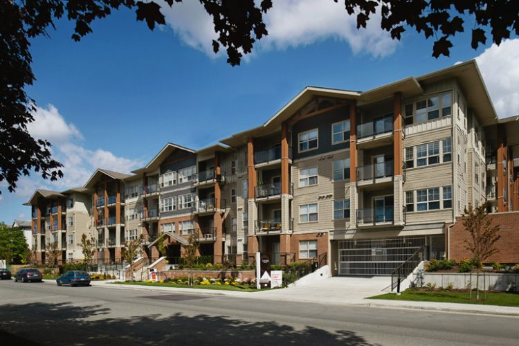 Langley condo architectural design