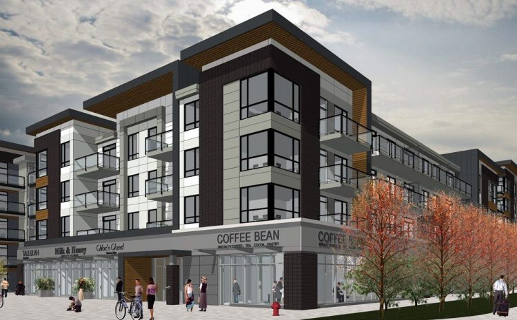 Abbotsford Mixed Use Architecture Renderings