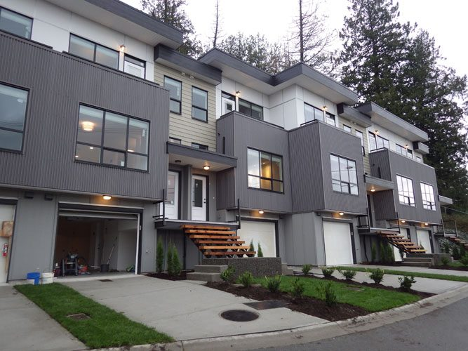 Vantage at Whatcom Townhouses architecture design