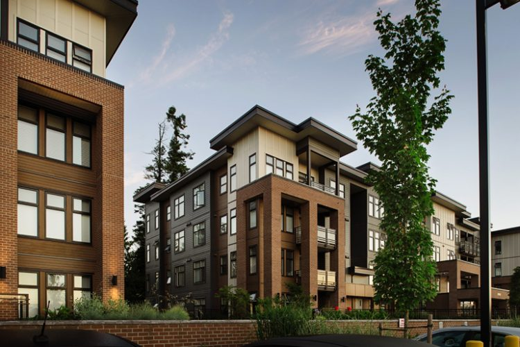 architecture for condos in langley