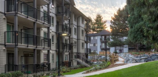 architecture design for Wellesley Apartments in Abbotsford