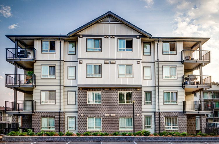 architecture for Wellesley Apartments in Abbotsford