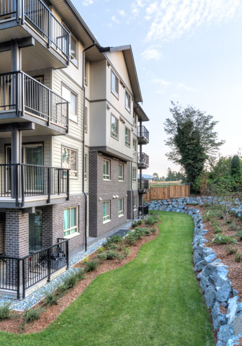 architecture design for Wellesley Apartments in Abbotsford, BC