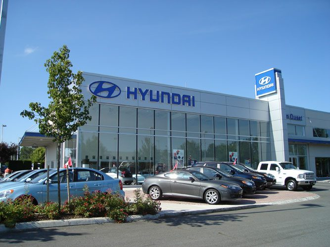 Abbotsford Hyundai architecture design