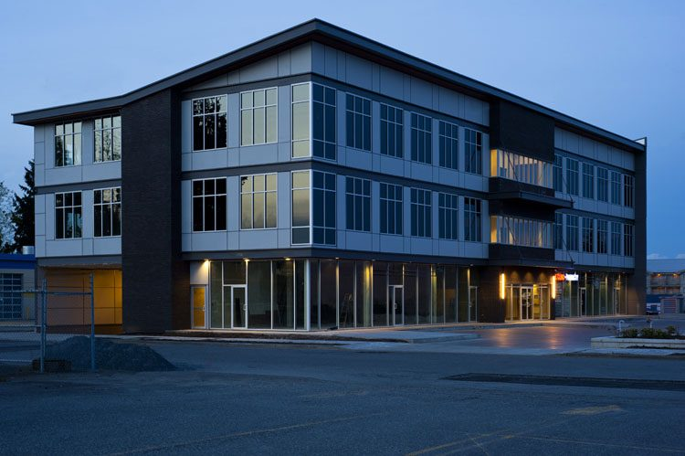 Allwood Building exterior in Abbotsford