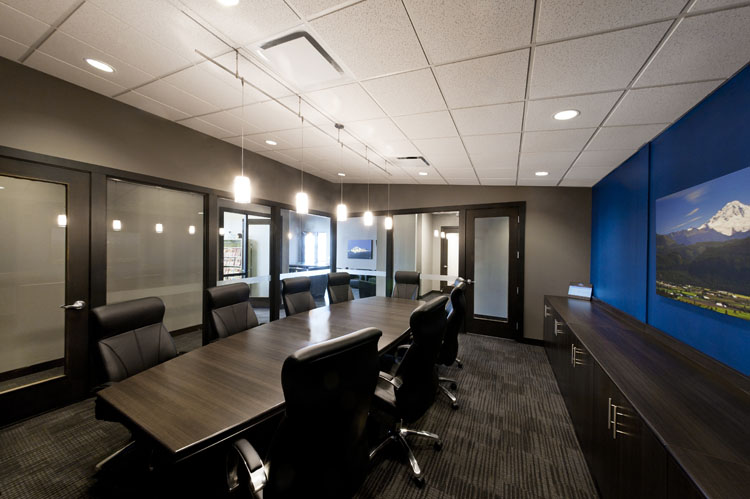 Allwood Offices building in Abbotsford interior architecture