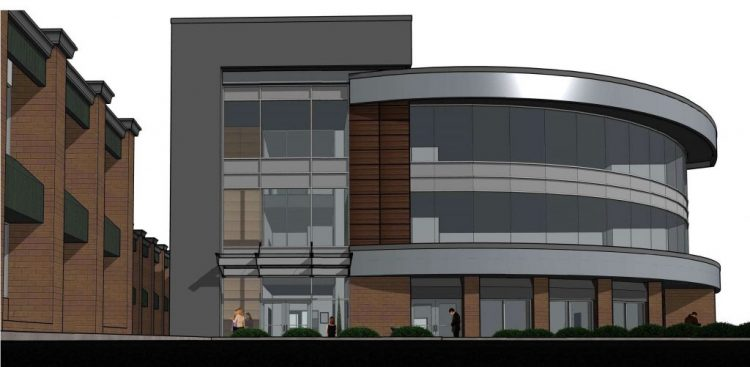 architectural design for an abbotsford building