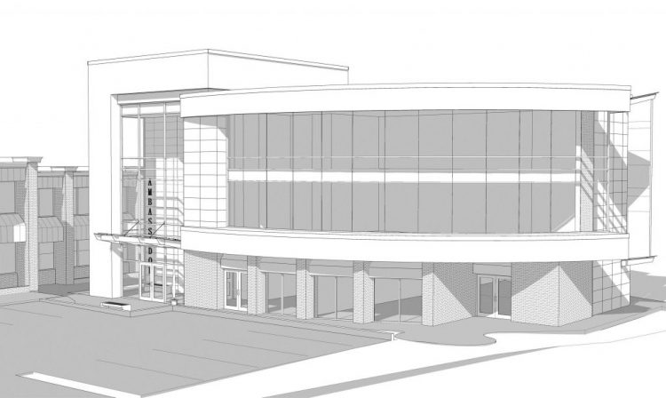 architecture drawings south fraser way abbotsford office building