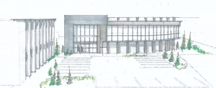 architectural drawings abbotsford office building