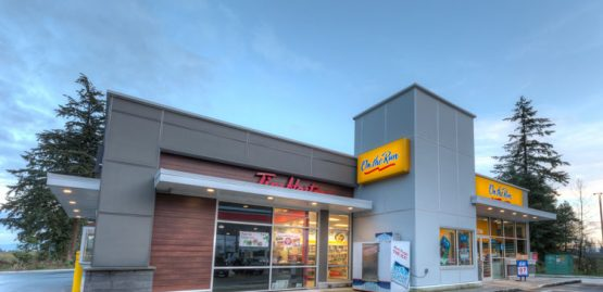 clearbrook road, Abbotsford Esso architectural design