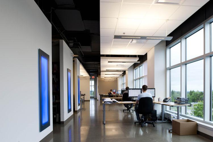 EMCO building in Abbotsford interior design
