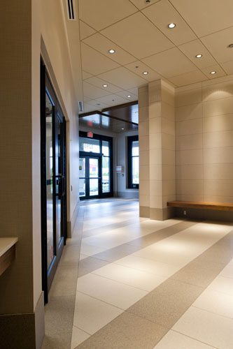interior architecture of the EMCO building in Abbotsford
