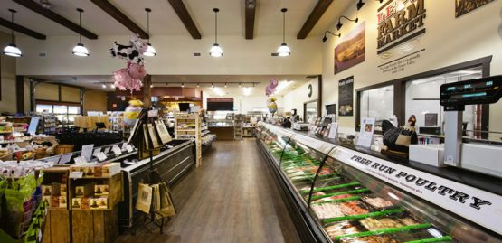 Lepp Farm Market in Abbotsford interior
