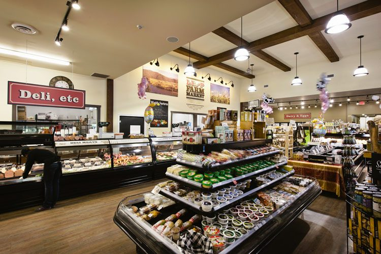 Interior of Lepp Farm Market in Abbotsford